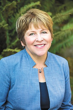 Lisa Brown is an economist, former professor at Eastern Washington University and Gonzaga University and represented Spokane for 20 years in the state legislature. As chancellor of WSU Spokane, she helped initiate the Elson S. Floyd College of Medicine and is running for Congress to represent the 5th district in Eastern Washington.