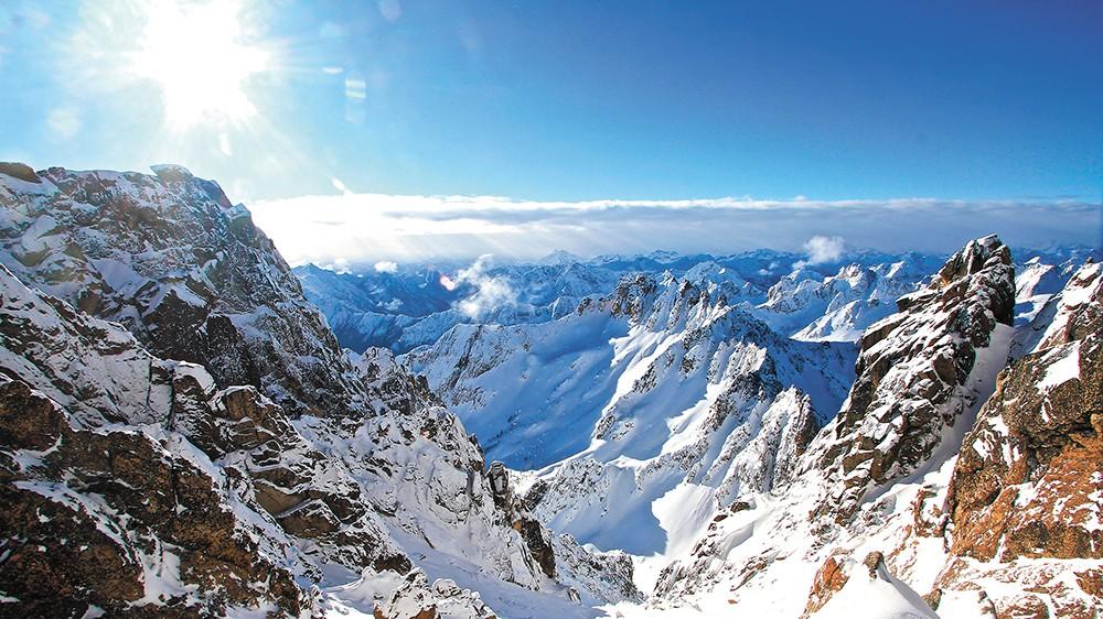 This rugged range is marked by breathtaking granite spires. - BOB LEGASA PHOTO