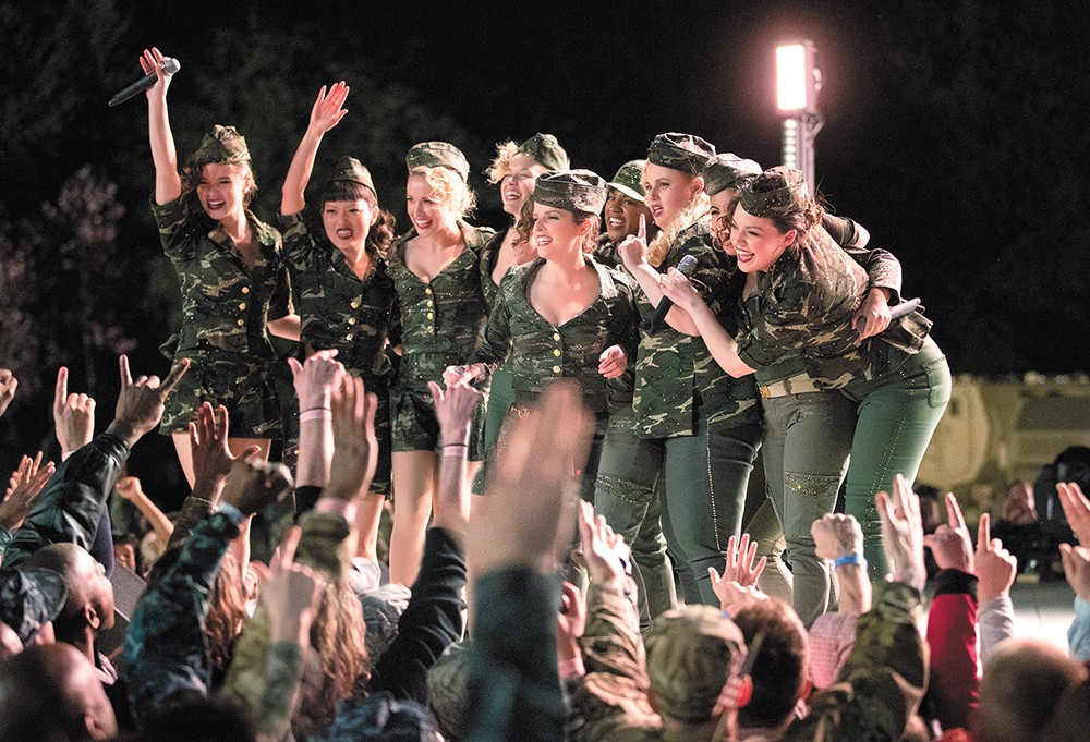 The popular Pitch Perfect series goes wildly off-key in its third (and hopefully final) installment.
