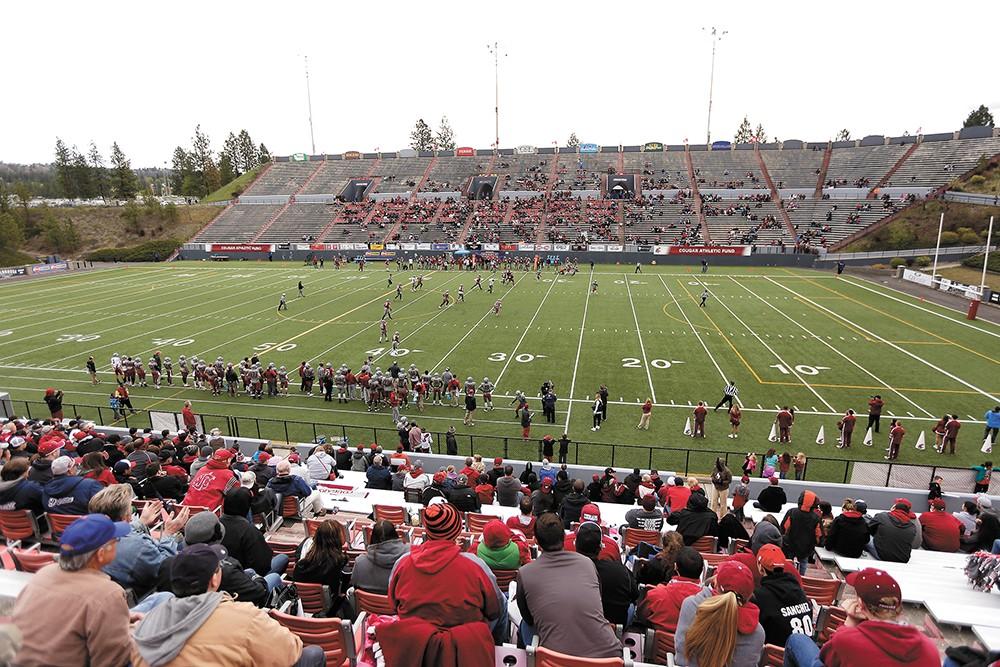 Joe Albi Stadium rarely has a big crowd. - YOUNG KWAK