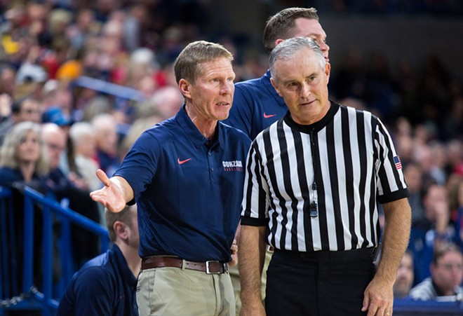 Mark Few might have an Australia problem. - LIBBY KAMROWSKI