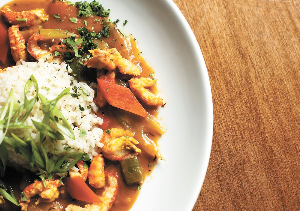Southern flavors meld in Seasons of Coeur d'Alene's crawfish étouffée. |YOUNG KWAK PHOTO
