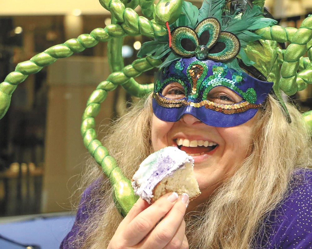 New Orleans native Kathy Beechler helped envision Krewe d'Alene.