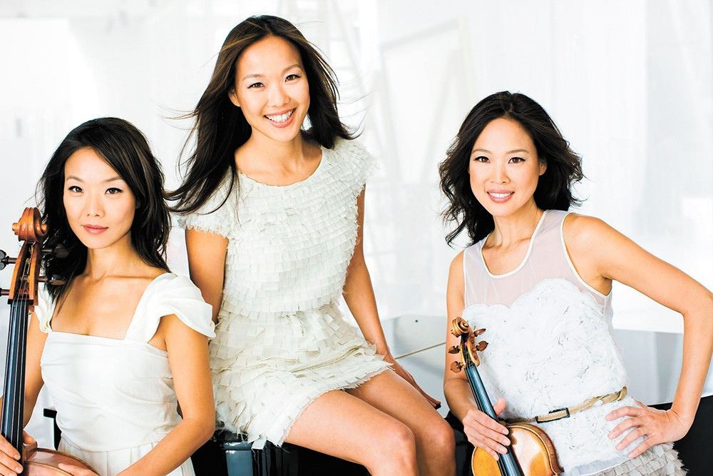The Ahn Trio is part of the Spokane Symphony's Vienna, City of Dreams show this weekend.