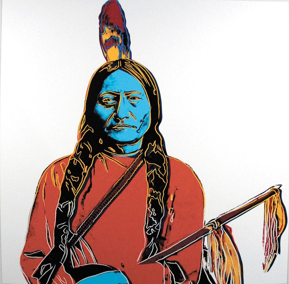 Andy Warhol's Sitting Bull