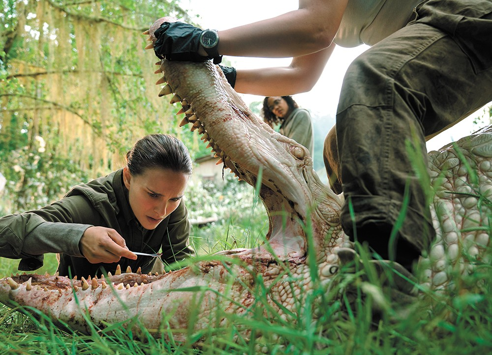 Natalie Portman contemplates a side gig in veterinary dentistry.