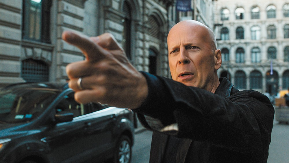 Bruce Willis is a one-man vigilante squad in the unfortunately timed Death Wish remake.