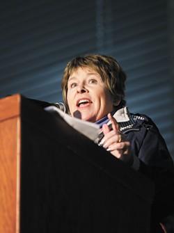 Former WSU-Spokane Chancellor Lisa Brown