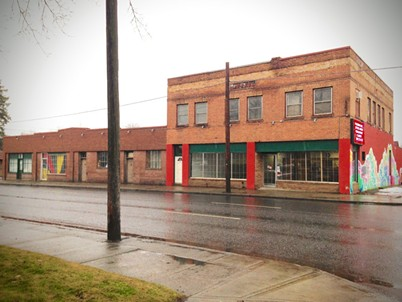 The nonprofit's new home on Ash Street is just a few minutes from downtown Spokane. - ART SALVAGE SPOKANE