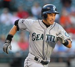 Ichiro - PHOTO BY KEITH ALLISON