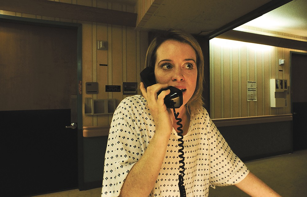In Unsane, Claire Foy is an office worker who finds herself committed to a mental hospital. But does she belong there?