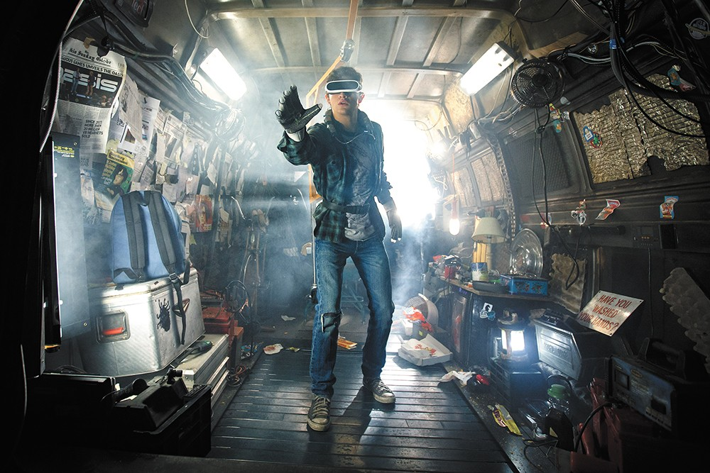 Steven Spielberg's latest takes place in a virtual reality near-future.