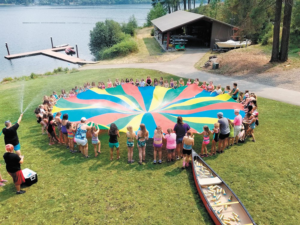Girls of all ages can enjoy a week of fun, friendship and learning at the Girl Scouts' Camp Four Echoes.