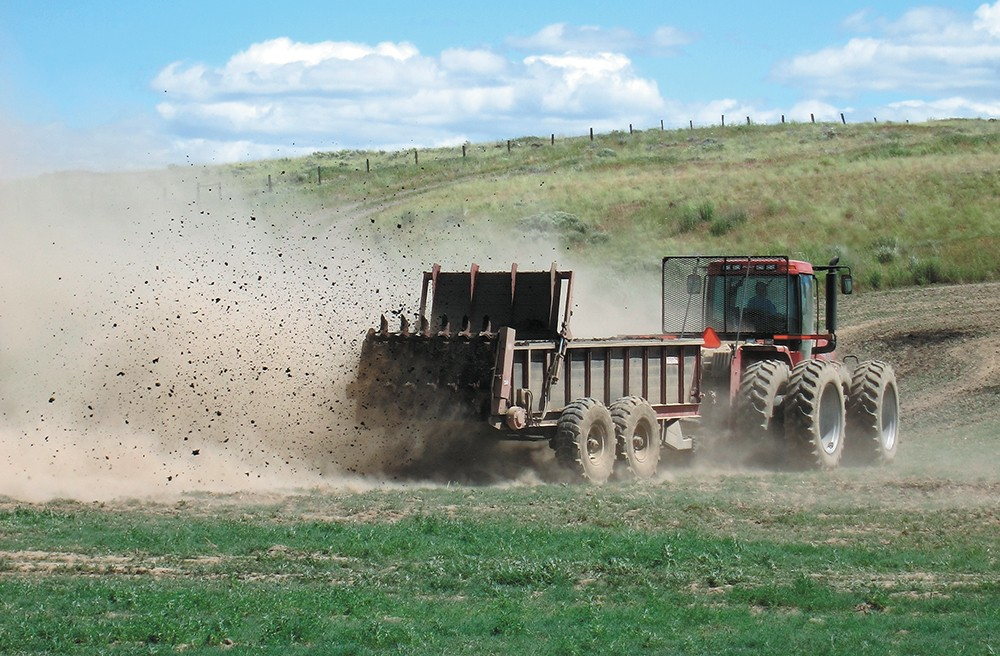 New farming practices hold promise for both farmers and the environment. - ANDY BARY/WSU PHOTO