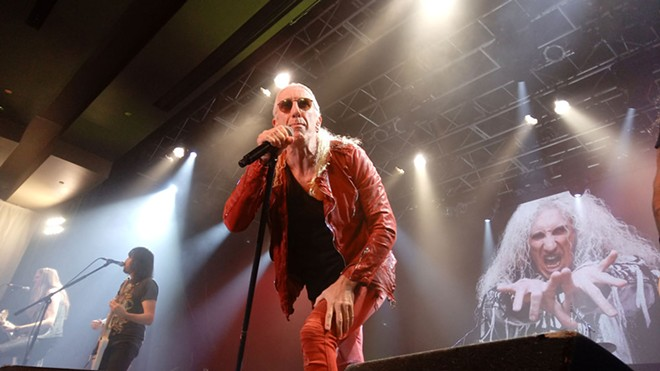 Dee Snider delivered a potent hard-rock show Saturday night. - DAN NAILEN
