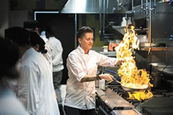 Chef Blerita Kaba crafted a comfort food-focused menu for Three Peaks, drawing from her diverse culinary background. - SPOKANE TRIBE CASINO