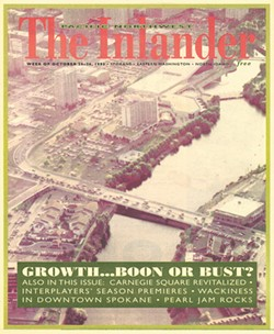 Our first edition: October 20, 1993 - Cover Photo: Erik Sohner; Airplane pilot: Tom Shanks