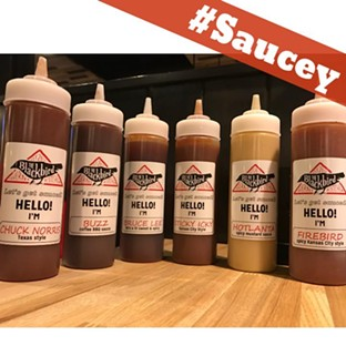 Sauce your meat yo'self with these six flavors. - THE BLACKBIRD