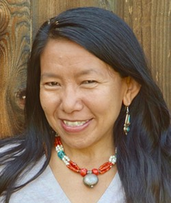 Dorje Dolma grew up in the isolated mountain region of Dolpo in Nepal. Her new book Yak Girl tells the story of her and her family's struggle to survive. - DORJE DOLMA