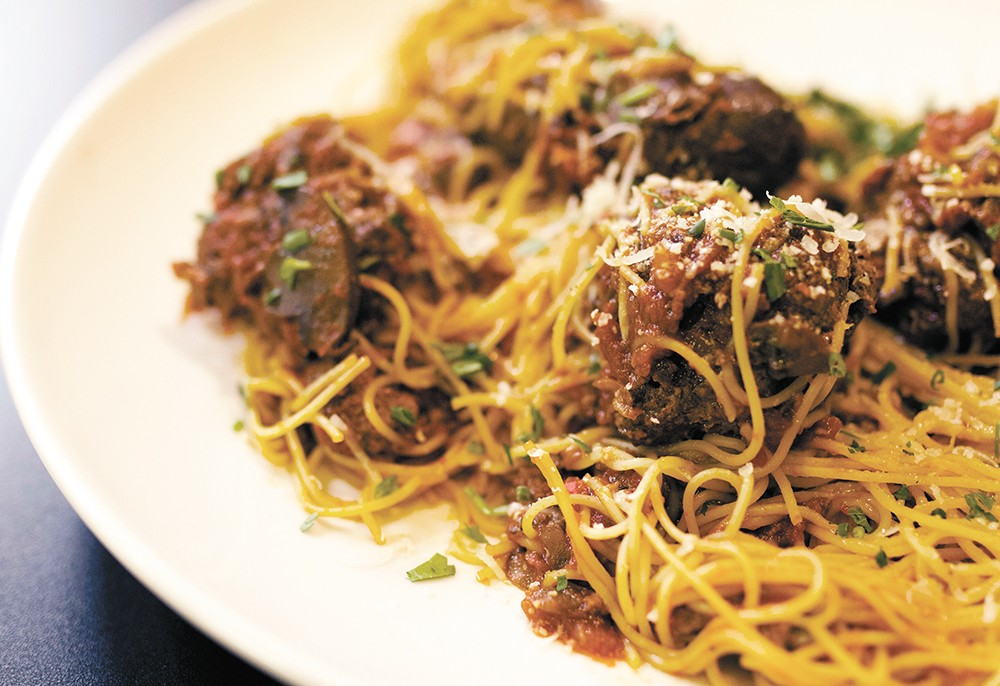 Radicci serves its pasta dishes in three sizes; as a side, single entree or family-style.