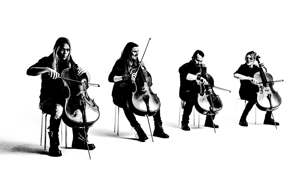 Apocalyptica gives hard rock the classical treatment, reworking Metallica classics for a symphony crowd.