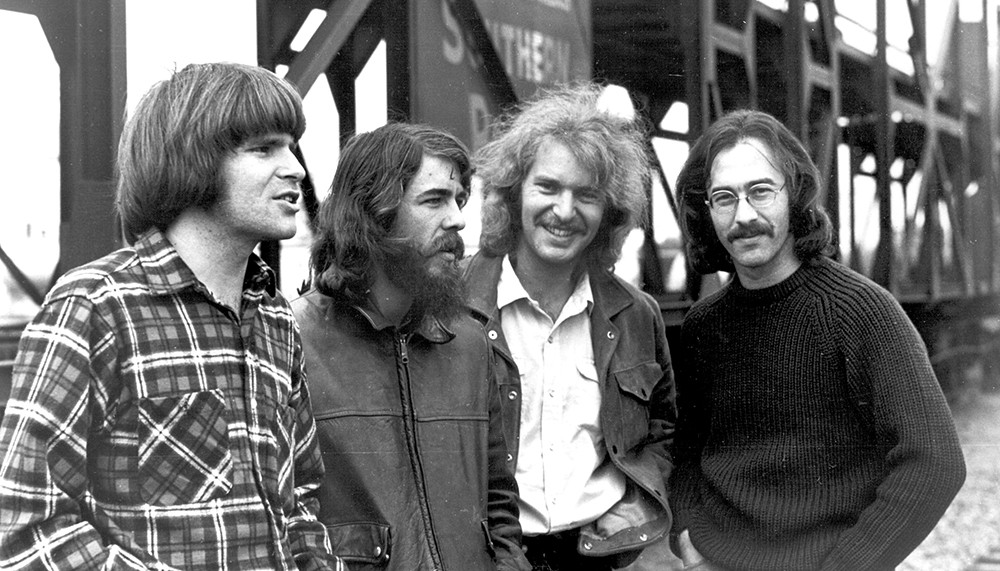 Creedence Clearwater Revival during happier times. What would happen if there really was a revival?