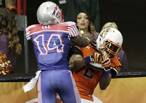Salt Lake Screaming Eagles vs. Spokane Empire Indoor Football League Game