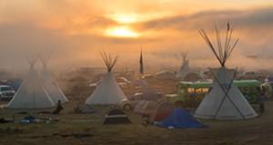 Scenes from the Dakota pipeline protests