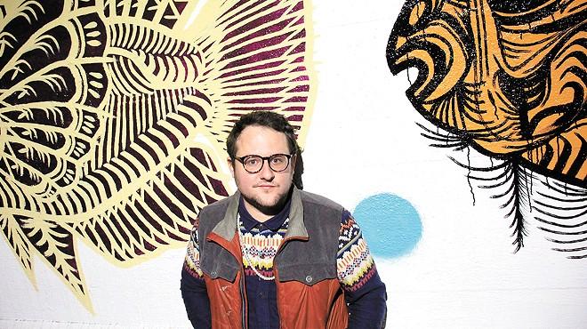 Spokane muralist Matt Smith emerges on the scene with a new public piece on Stevens Street
