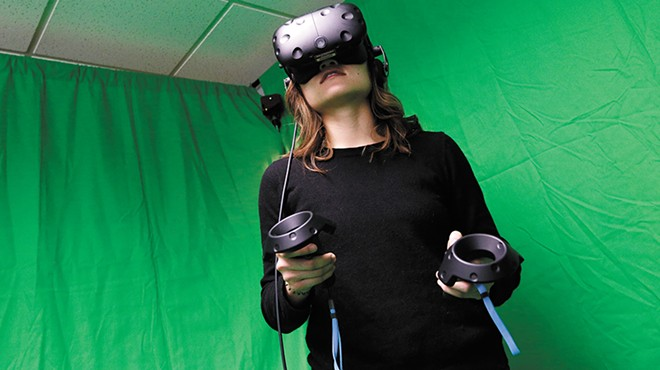 With an eye toward the future of medicine, WSU medical school students explore the world of VR
