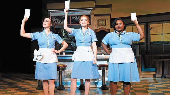 To leap into a role in Waitress, actor Steven Good had to find his own groove — quickly