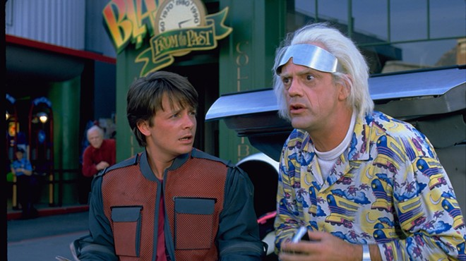 We've almost arrived at Back to the Future II day