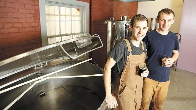 Meet your brewers: Quartzite Brewing Co.'s Patrick Sawyer & Jake Wilson