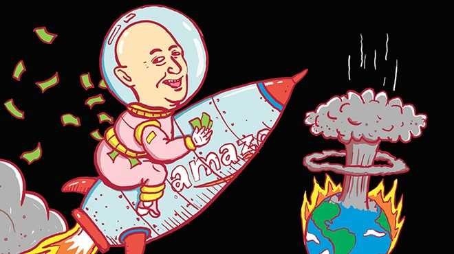 Earth to Bezos: People could use help down here
