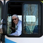 Here's to Dave, the bus driver