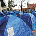 Did activists push the city of Spokane to establish warming shelters sooner — or impede  efforts?