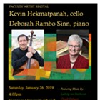 Gonzaga University Faculty Cello Recital: Kevin Hekmatpanah & Deborah Rambo Sinn