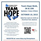 Team Hope Walk, 5K, & 10K