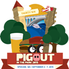 Pig Out in the Park feat. Sammy Eubanks, Dimestore Prophets, Blues Edition, Blue Canoe and more