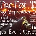 Fire Fest '15 Benefit Event feat. Dysfunktynal KAOS, NoGunaso, Armed and Dangerous and more