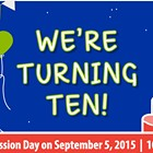 Mobius Children's Museum's 10th Birthday