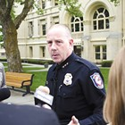 A month before Chief Straub was ousted, he fought against mayor's proposal to move police leaders to city hall