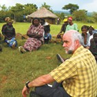 Lending a hand in Kenya