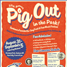 Pig Out in the Park feat. Too Slim & the Taildraggers, Marshall McLean Band, Nicole Lewis, Smash Hit Carnival, Starlite Hotel, Sammy Eubanks, the Backups and more