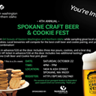 Spokane Craft Beer & Cookie Fest