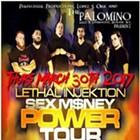 Lethal Injektion: Sex M$ney Power Tour feat. Catalyst, Burning Clean, Jacob VanKnowe