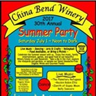 China Bend 30th Summer Party