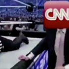 Trump Tweets a Video of Him Wrestling 'CNN' to the Ground