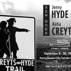 New Works by Jenny Hyde & Katie Creyts
