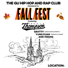 GU Hip Hop & Rap Club Fall Fest feat. Travis Thompson, GRXTTY, Yung Kuan and $wang